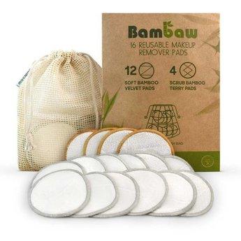 Bambaw Herbruikbare Make-up Pads / Wattenschijfjes