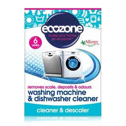 Ecozone Reinigingstabletten Wasmachine + Vaatwasser