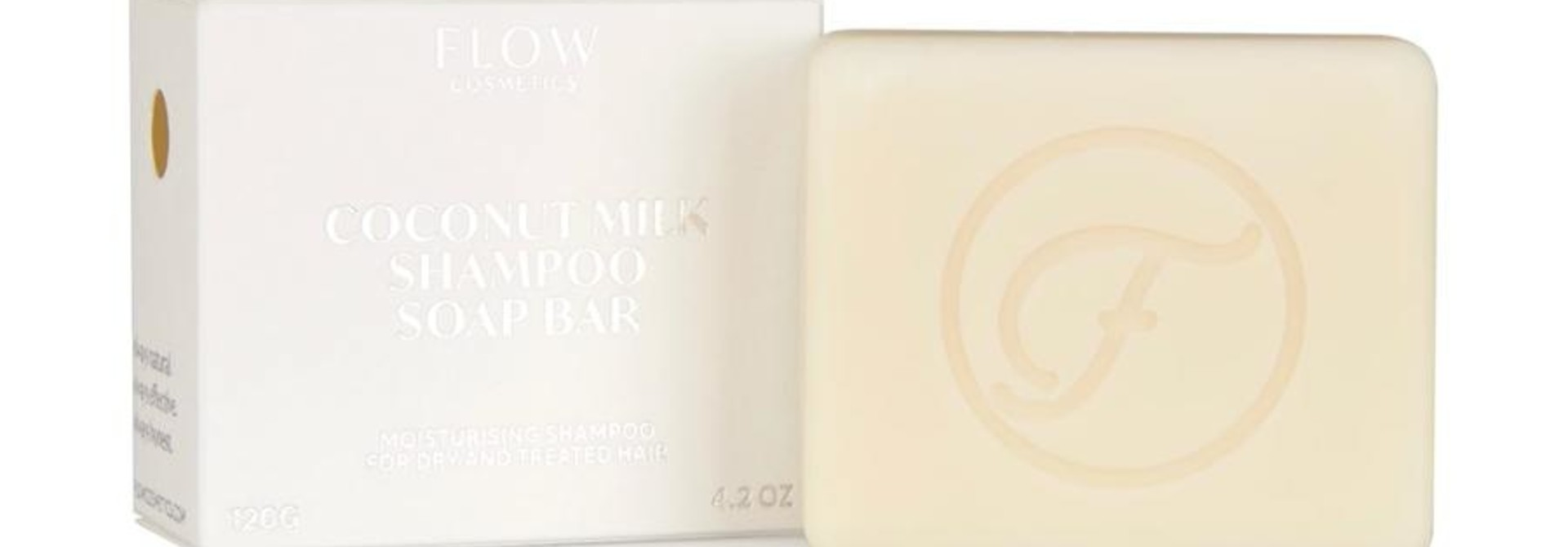 Shampoo Bar DROOG/ BEHANDELD HAAR - Coconut Milk Bar