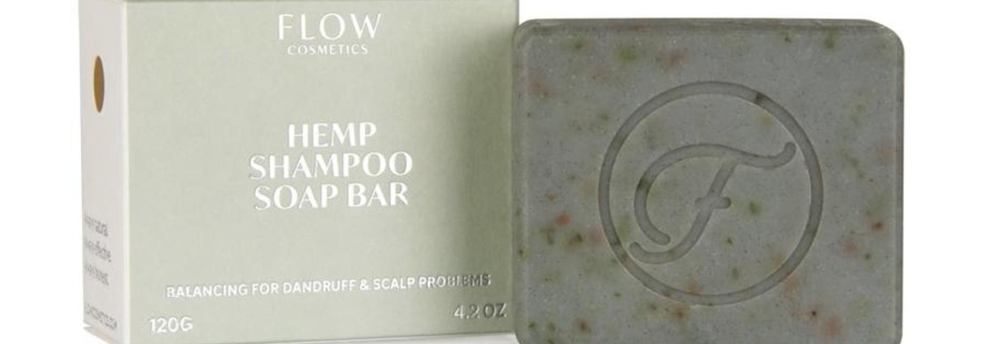Shampoo Bar ROOS & GEVOELIGE HOOFDHUID- Hemp