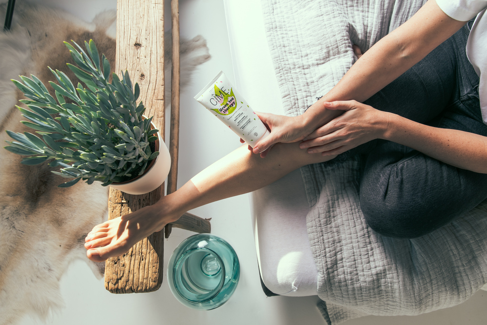Verstevigende bodylotion - Green Tea Therapy-2