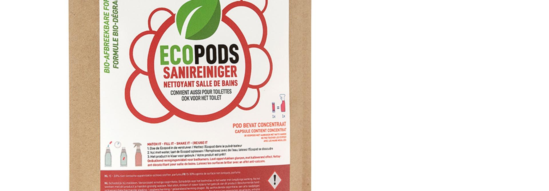 Sanireiniger - 3 capsules