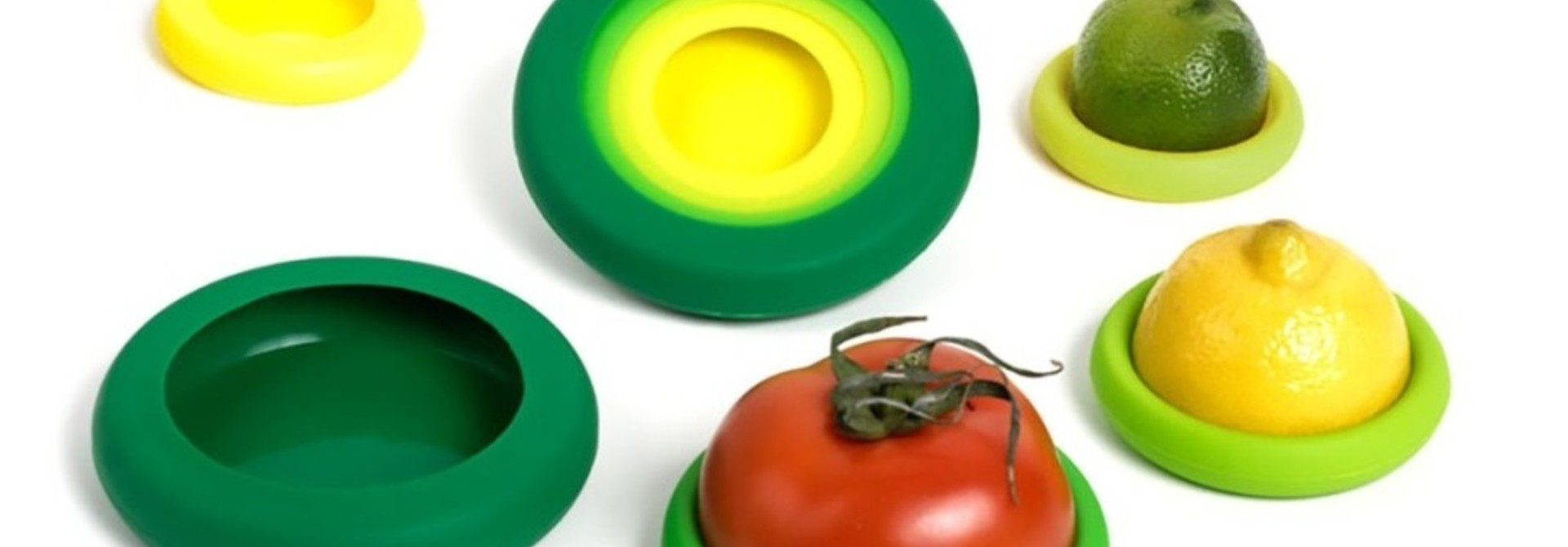 Food Huggers - Fresh Green - set van 5