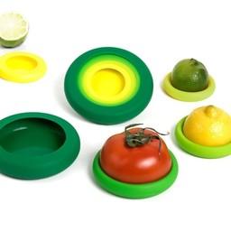 Foodhuggers Food Huggers - Fresh Green - set van 5