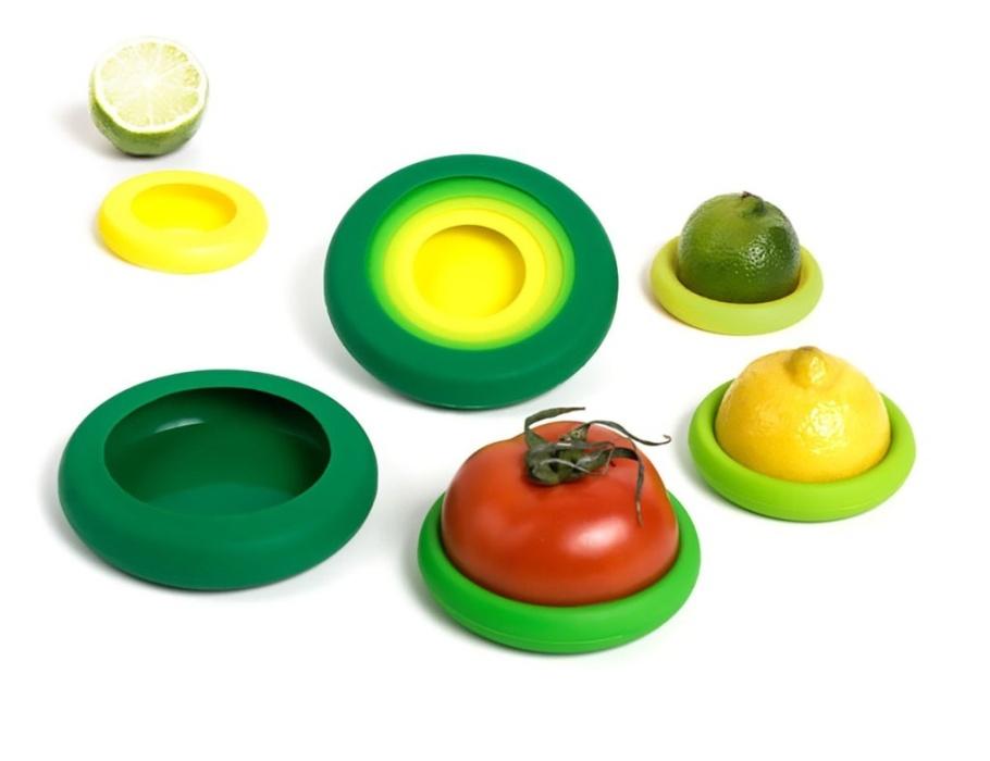 Food Huggers - Fresh Green - set van 5-1
