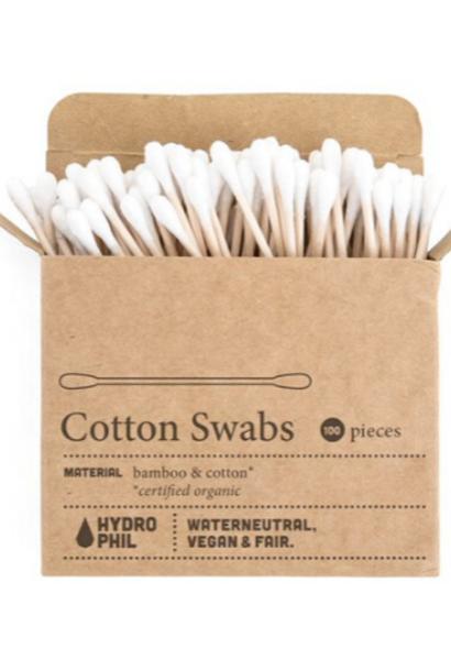 Wattenstaafjes Bamboe & Cotton - 100 stuks