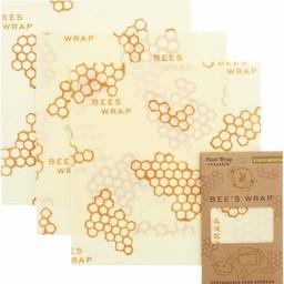 Bee's Wrap BIJENWASDOEK - 3 Pack MEDIUM