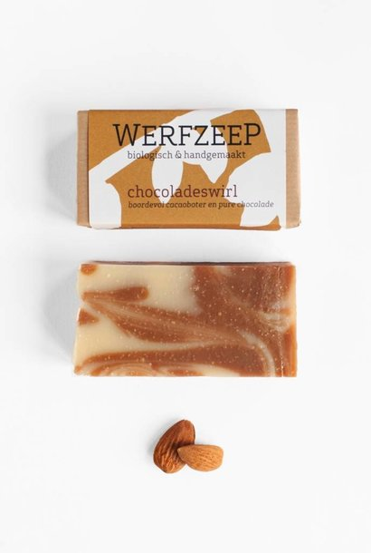 Lichaam / Handzeep Chocoladeswirl - DROGE HUID