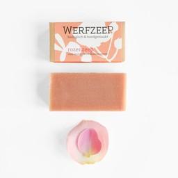 Werfzeep Lichaam / Handzeep Rozen - DROGE HUID