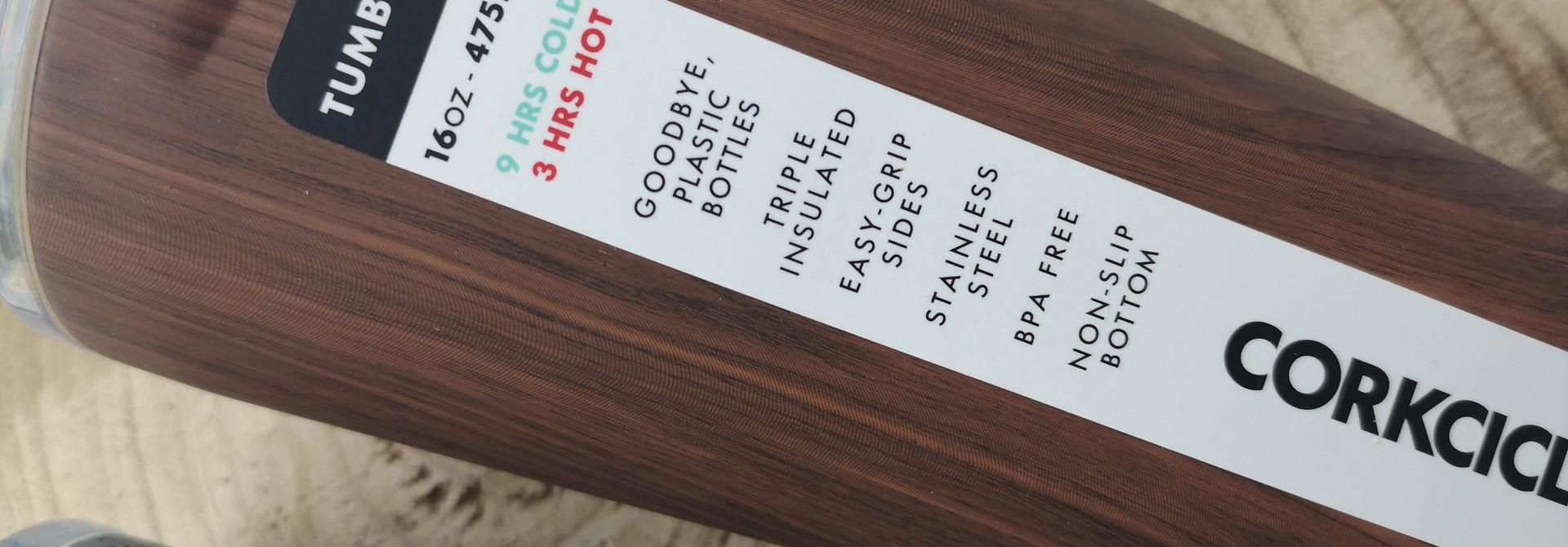 Tumbler - Walnut Wood 475ml