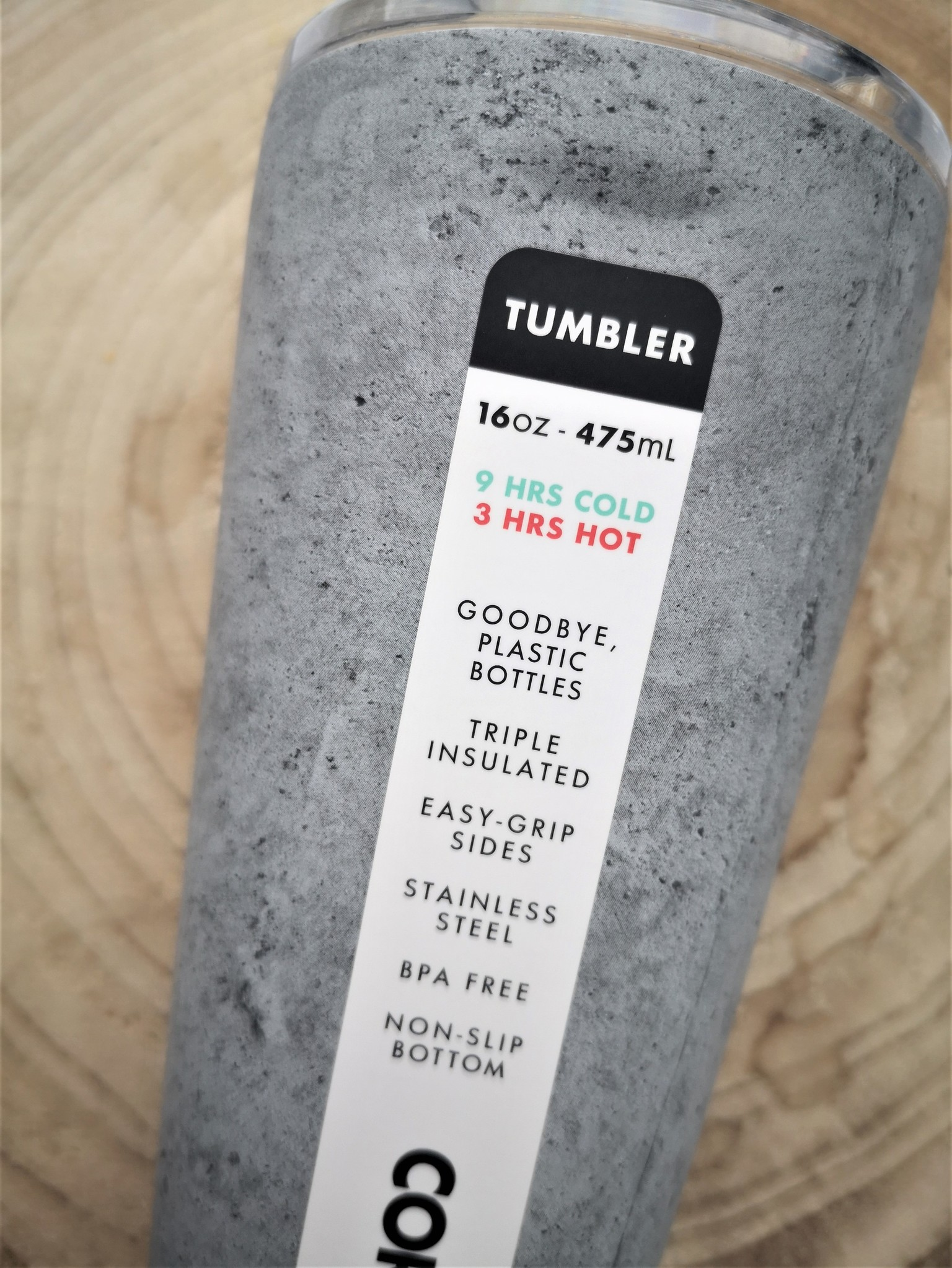 Tumbler - Concrete 475ml-3