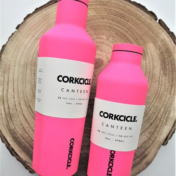 Corkcicle Canteen Fluo Pink - 270ml