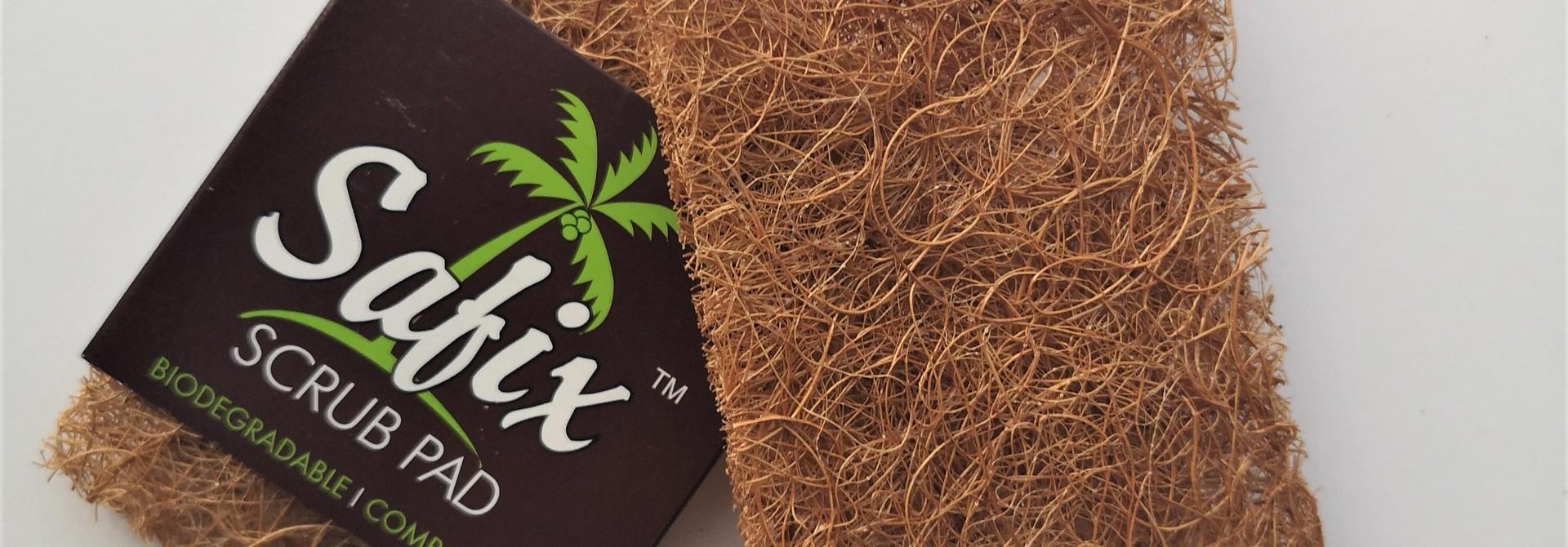 Krasvrije Schuurspons van kokosvezel