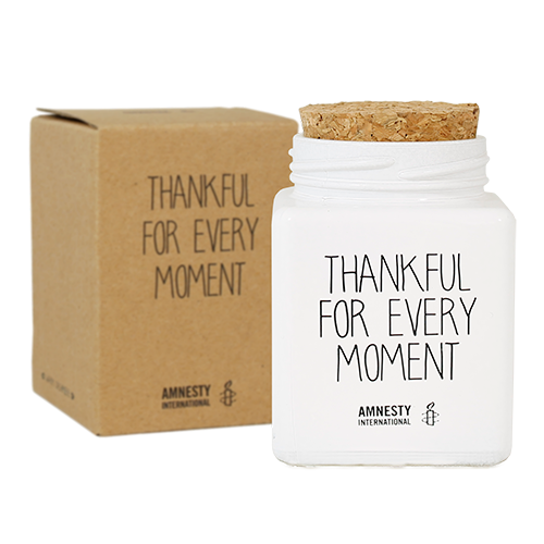Bio  Sojakaars - THANKFUL FOR EVERY MOMENT  - Geur Fresh Cotton-2