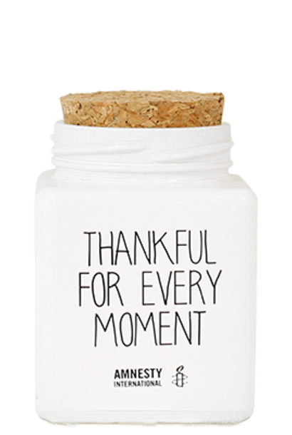 Bio Sojakaars - THANKFUL FOR EVERY MOMENT  - Geur Fresh Cotton