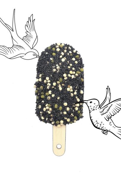 Vogel ijsje - Classic Black