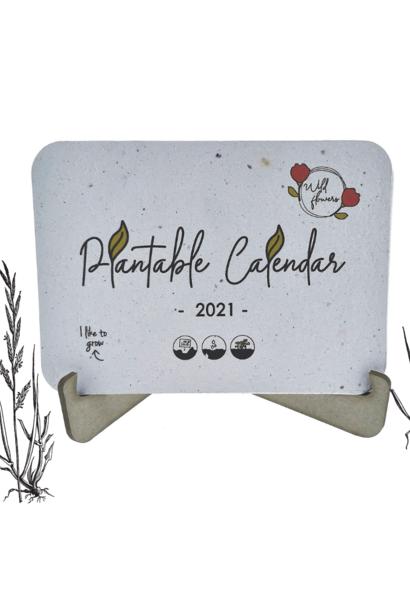 Plantbare kalender 2021