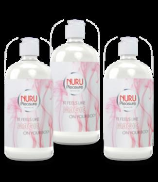 Nuru Massage Gels van Nuru Nederland Drei Flaschen Nuru gel Classic 450ml