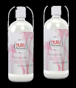 Zwei flaschen Nuru Gel Classic 250 ml