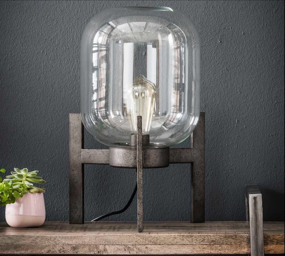 Zijlstra Glazen Tafels.Zijlstra Tafellamp Glas Support