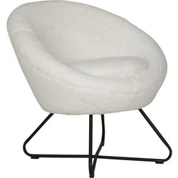 Fauteuil Cuddley wit