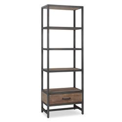 Industriele boekenkast Implexla L60xB40xH185cm