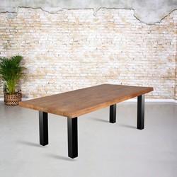 Eetkamertafel mangohout | N-poot