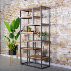 Industriele boekenkast Saamph 180x90cm