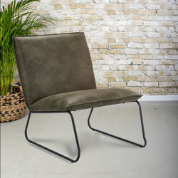 Fauteuil Charlie Olive 1-zits