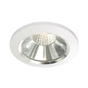 LAP 6W Fixed LED Downlight White