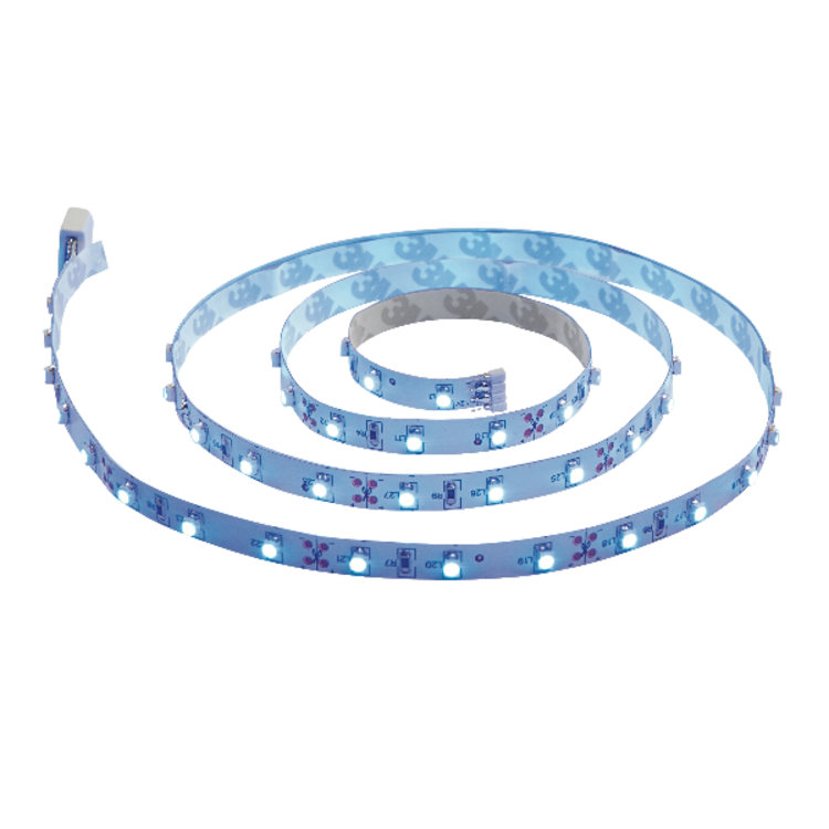 Saxby Flexline 12V 1M 4.5W Blue Cabinet - White Plastic