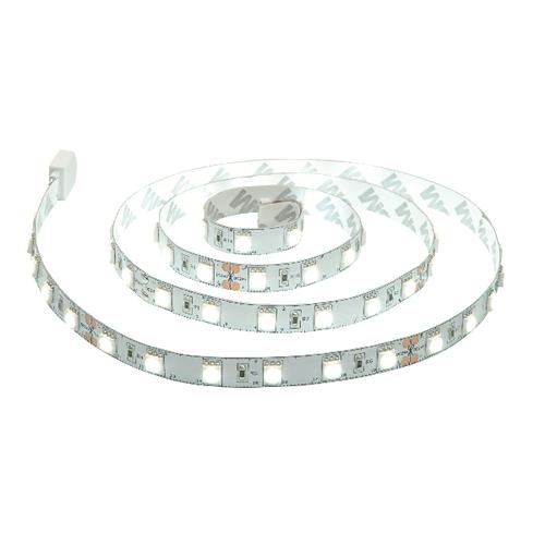 Saxby Flexline 24V 1M 14W Daylight White Cabinet - White Plastic