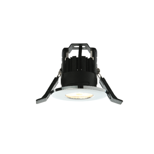 LAP LED Fire Rated WW 1 Light Recessed - Chrome