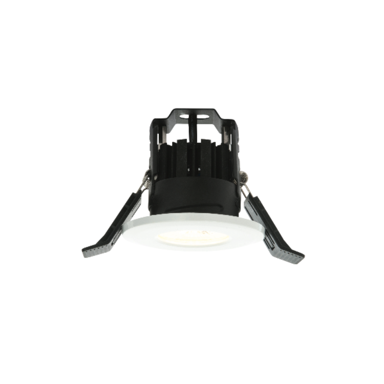 LAP LED Fire Rated WW 1 Light Recessed - White