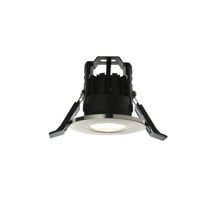 LAP LED Fire Rated WW 1 Light Recessed - B. Chrome