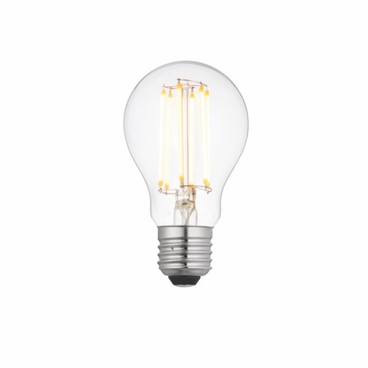 Saxby E27 LED Filament GLS Dimmable 8W Warm White Accessory - Clear Glass
