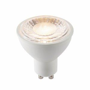 Saxby GU10 LED Smd 60 Degrees 7W Warm White Accessory - Matt White Plastic