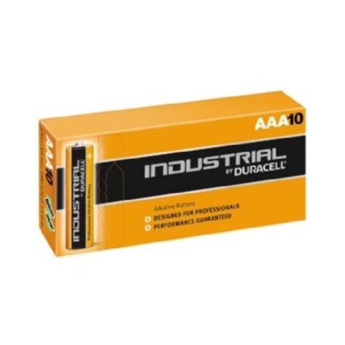 Duracell Duracell Industrial AAA X 10