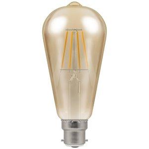 Crompton LED Valve ST64 Warm White B22