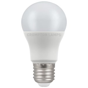 Crompton LED GLS Thermal Plastic 8.5W 4000K  ES-E27