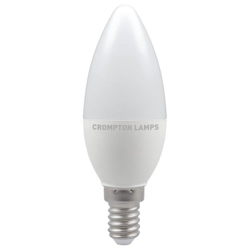 Crompton LED Candle Thermal Plastic Dimmable 5.5W 4000K SES-E14