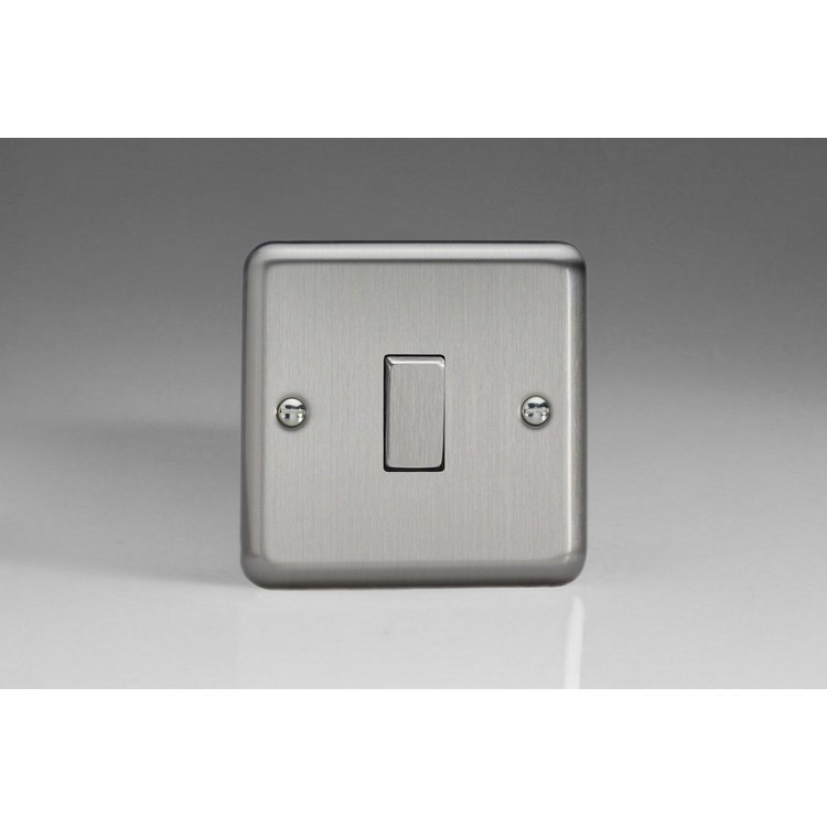 Varilight 1-Gang 10A 1- Or 2-Way Rocker Switch With Metal Rockers
