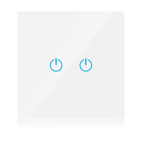 V-Tac V-Tac Smart 2 Gang Wifi Switch White