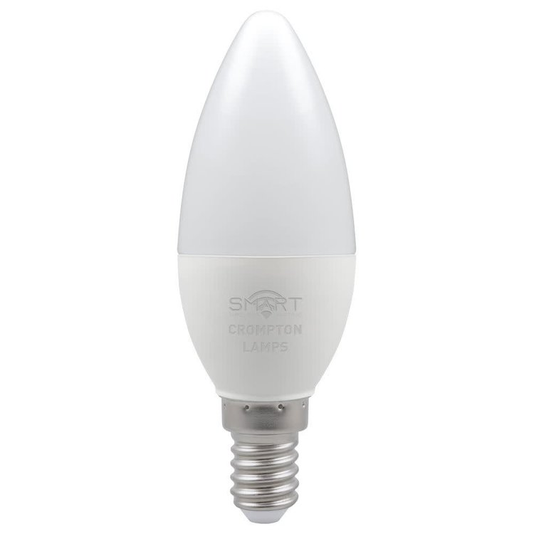 Crompton LED Smart Candle 5W Dimmable 3000K SES-E14