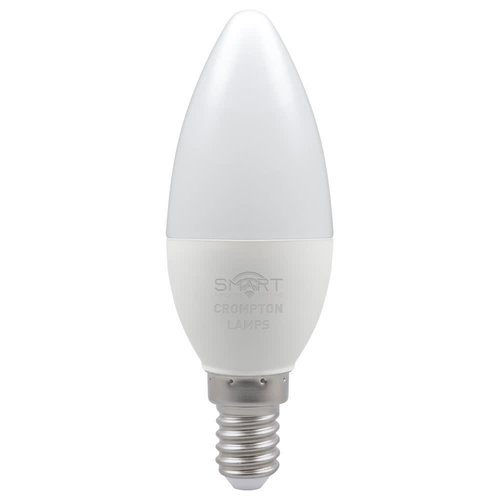 Crompton LED Smart Candle 5W Dimmable RGBW 3000K SES-E14