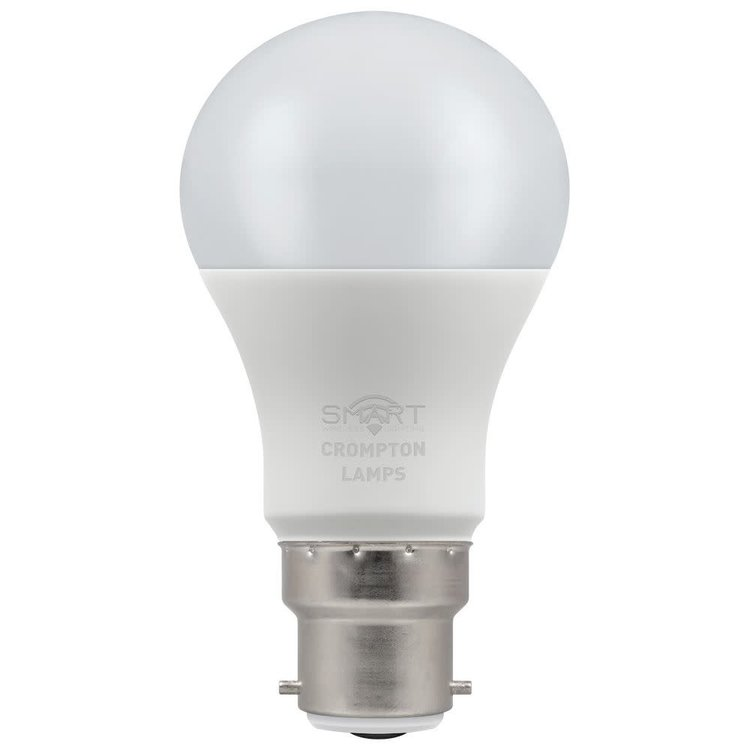Crompton LED Smart GLS 8.5W Dimmable 3000K BC-B22d