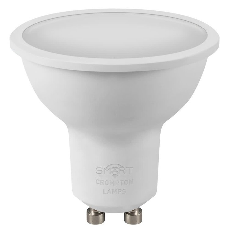 Crompton LED Smart GU10 5W Dimmable Tuneable White 2700K - 4000K