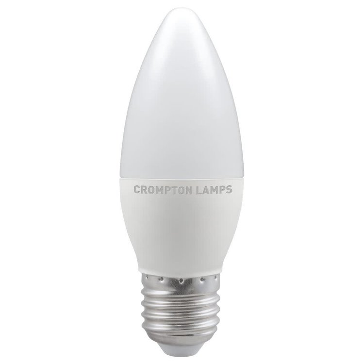 Crompton LED Candle Thermal Plastic Dimmable 5.5W 4000K ES-E27