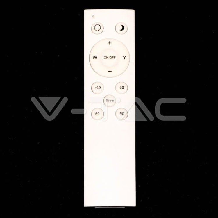 V-Tac V-Tac 60W LED Dome Light Remote Control Color Changing Dimmable Round Cover