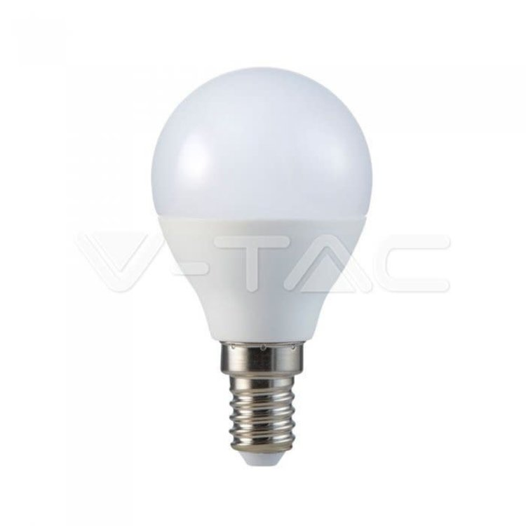 V-Tac V-Tac LED Bulb 3.5W E14 P45 Dimming Brightness RF Control RGB + 4000K